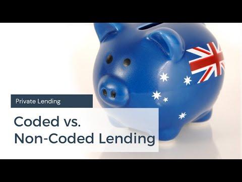 Coded vs Non-Coded Lending