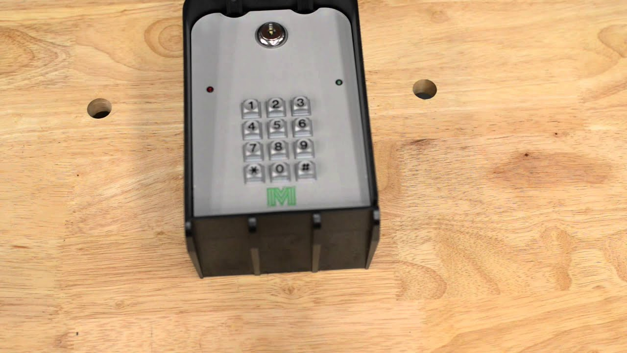 Apollo Millennium Wired Wireless Driveway Gate Keypad Youtube Auto Swing Wiring Diagram