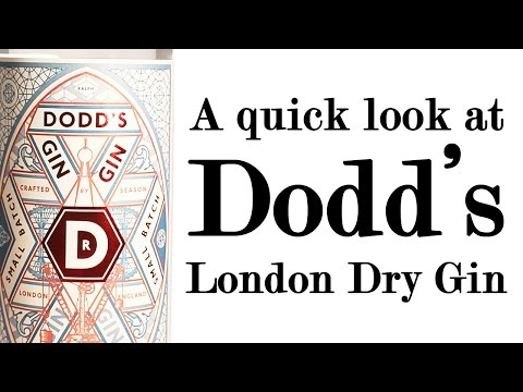 Dodd's London Dry Gin