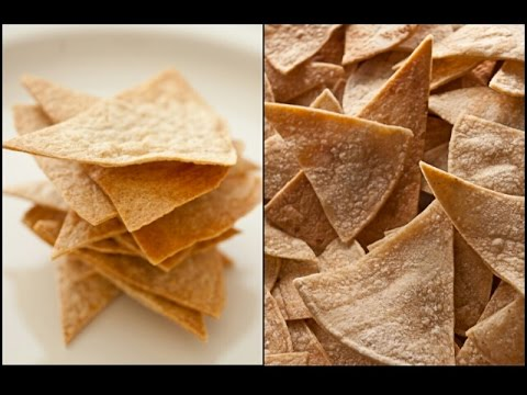 How to bake corn tortilla chips in the oven