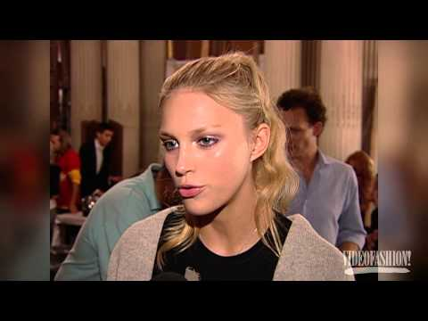 Anja Rubik - Videofashion