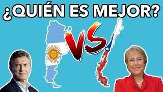 ARGENTINA VS CHILE - ¿CUÁL ES MEJOR PARA SUS CIUDADANOS?