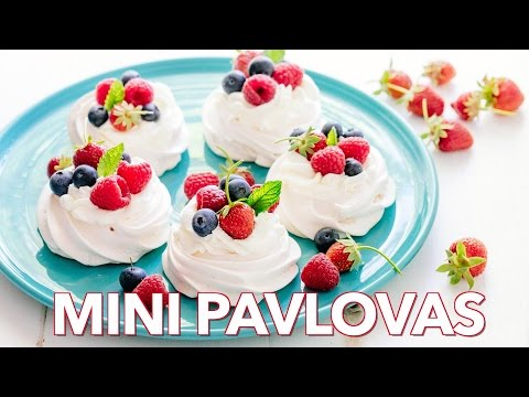 Dessert: Mini Pavlovas  - Natasha's Kitchen
