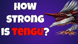 War Dragons - How strong is Tengu?