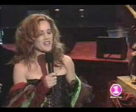 Amber Benson and Anthony Stewart Head singing