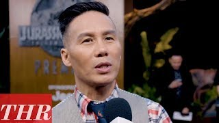 BD Wong on the 'Jurassic World: Fallen Kingdom' Premiere Red Carpet | THR