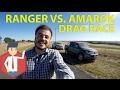 Drag Race: 2017 Volkswagen Amarok V6 vs. Ford Ranger XLT | Auto vlog 12