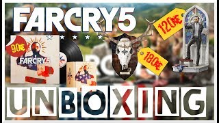 Unboxing - Far Cry 5 Collector Mondo, The Father, Hope County MT Edition - FR