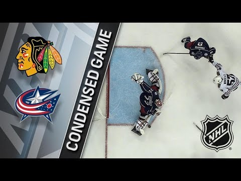 Chicago Blackhawks vs Columbus Blue Jackets – Feb. 24, 2018 | Game Highlights | NHL 2017/18. Обзор