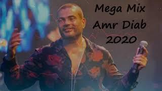 اجمد ميجا ميكس حزين عمرو دياب 2020   Mega Mix sad Amr Diab