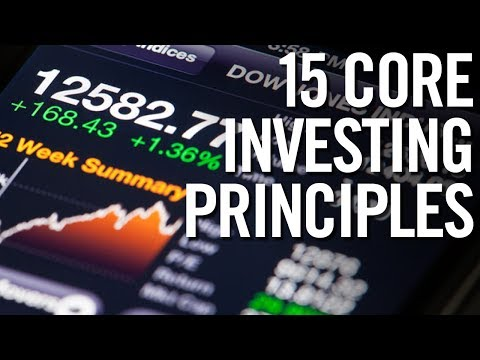 STOCK MARKET FOR BEGINNERS! 📈 15 Core Investing Principles