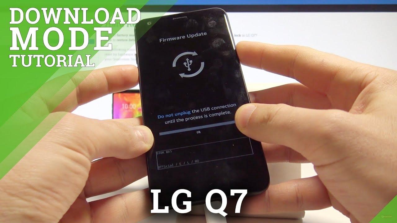 Download Mode LG Q7 - HardReset info