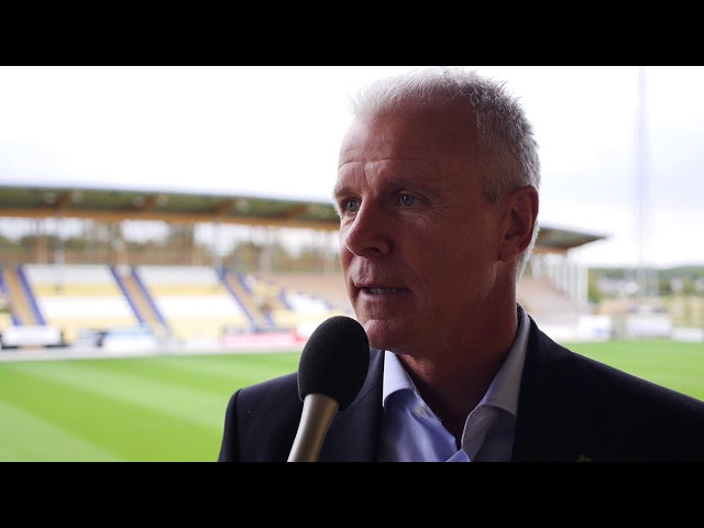 Inför U21 Sverige - Ungern, Falcon Alkoholfri Arena 2018
