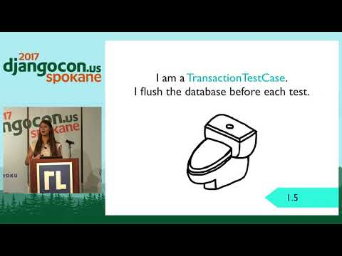 DjangoCon US 2017 -  Keynote - Testing in Django by Ana Balica