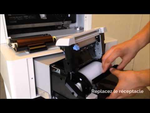 Recharger votre imprimante DNP Ds620