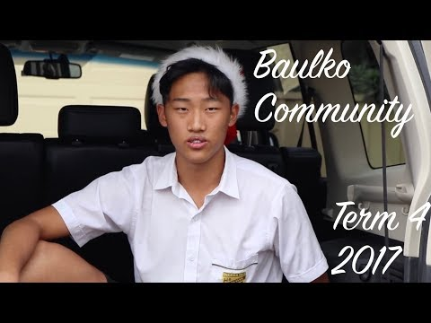 Baulko Community: Term 1 (2018)