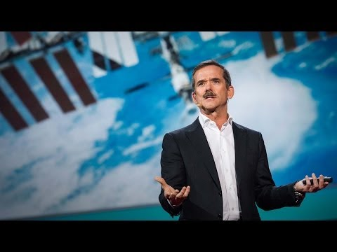 What I learned from going blind in space | Chris Hadfield