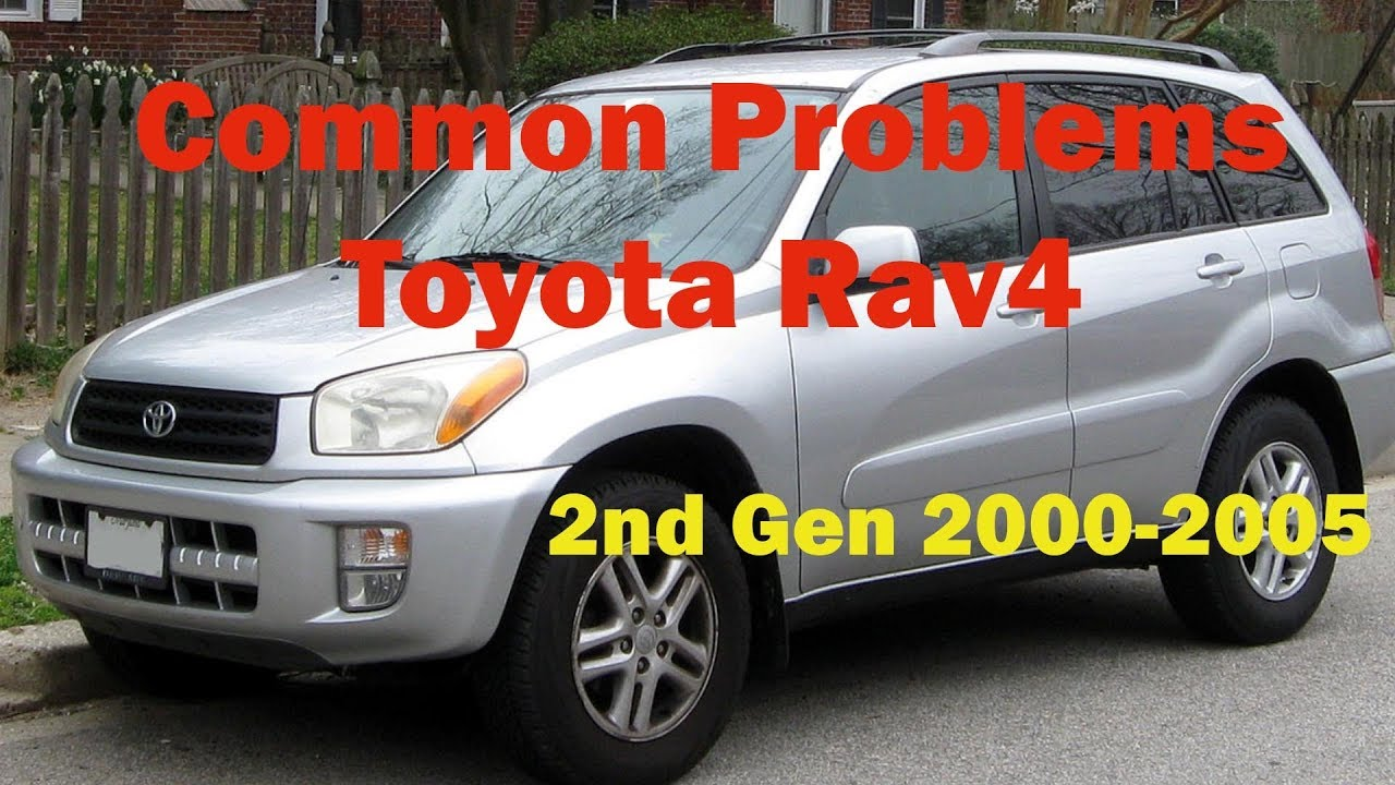 Common Toyota Rav4 Problems