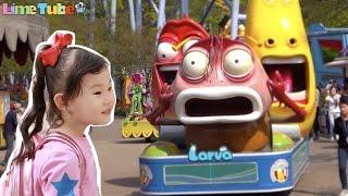 라임이의 서울랜드 캐릭터 타운 장난감 놀이동산 방문기  v-log LimeTube & Toy 라임튜브