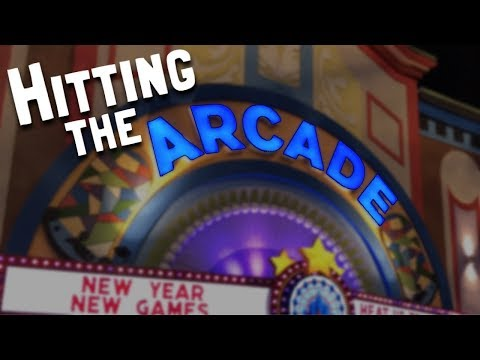 Winter Vacation 2018 (Day 16): Hitting the Arcade (January 18, 2018)