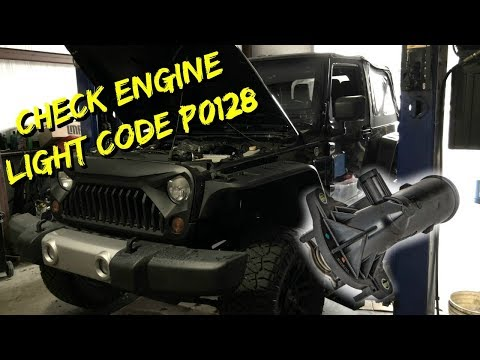 2012-2016 Jeep Wrangler / Cherokee – Thermostat Replace P0128 Code