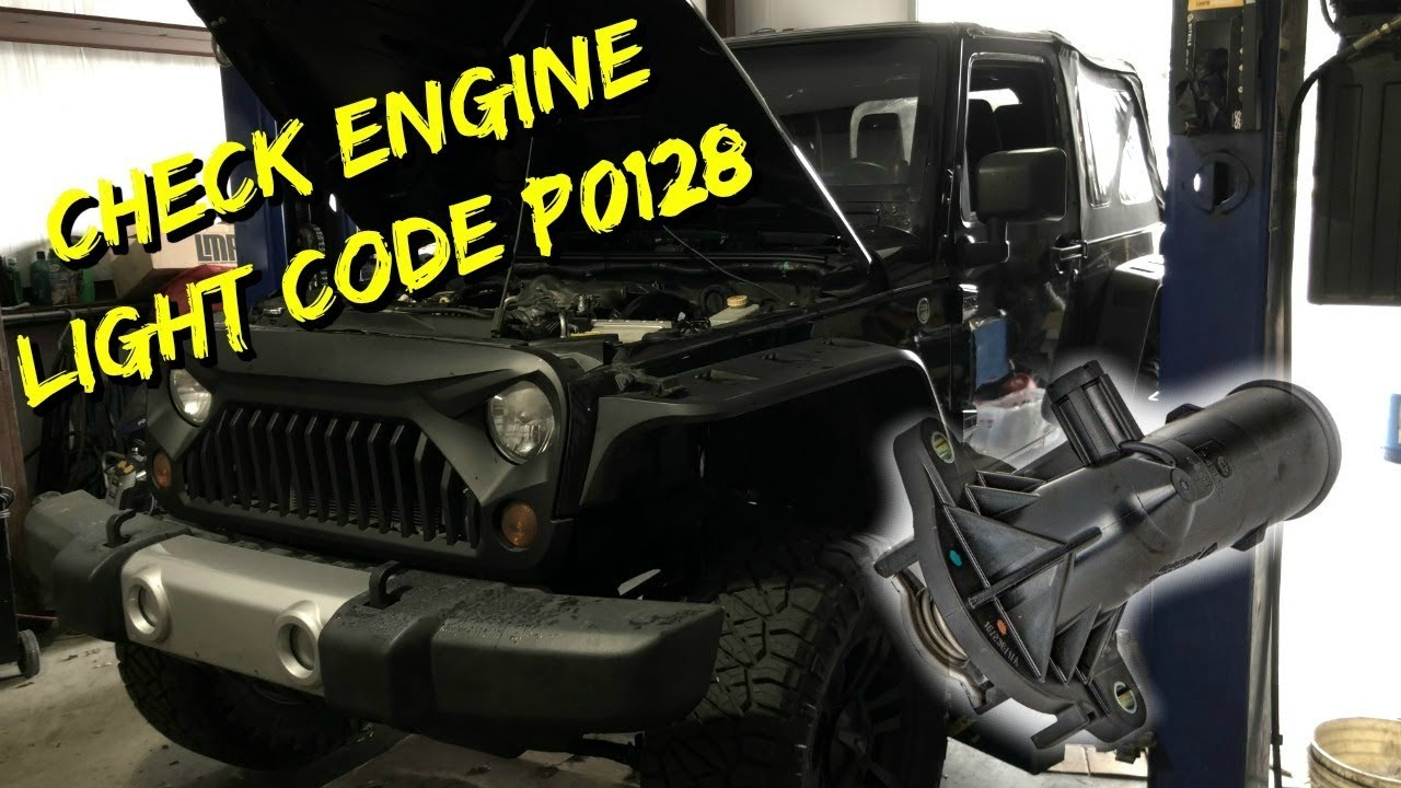 2012-2016 Jeep Wrangler / Cherokee - Thermostat Replace P0128 Code