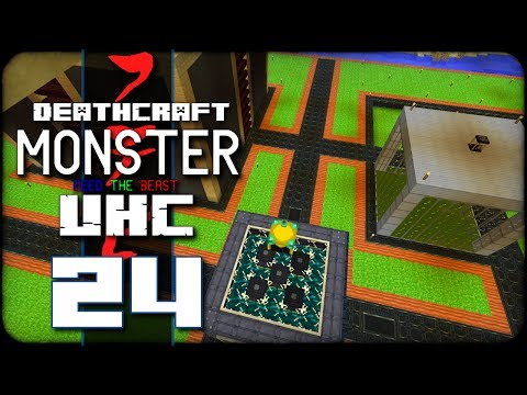 DeathCraft Monster UHC SMP - S2 Ep 24 - Room With A View!