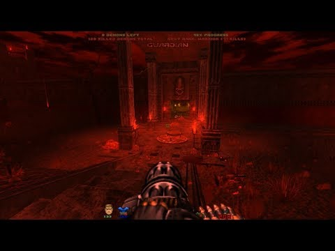 Doom Slayer Chronicles | Level 2: Blood Rain Plaza [Brutal Doom v21 RC1]