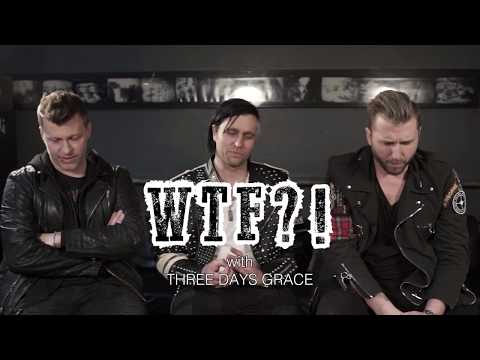 Three Days Grace Interview about an Old Hooker & Flea-Infested Puppy - WTF?! #003