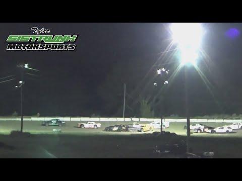Tyler Sistrunk Motorsports - North Florida Speedway - Feature Race - Grandstands Cam - 10-14-2017