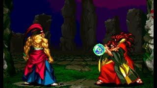 Samurai Shodown III: Genjuro playthrough / lvl-8 【60fps】