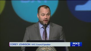 Corey Johnson calls for changes to MTA during his first State of the City address