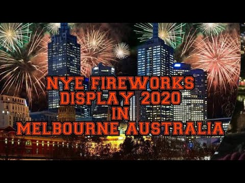 New Years Eve Fireworks Display 2020 || Melbourne Australia || Part 1