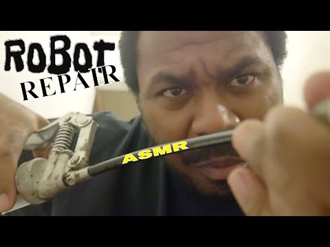 🤖 ASMR Robot Roleplay | ASMR Robot Repair & Robot Fix with S