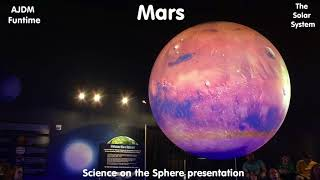 Science on the Sphere Pesentation Homeschooling Field Trip Feb 2018