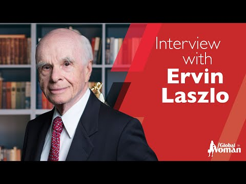 Interview with Dr Ervin Laszlo -   By Mirela Sula