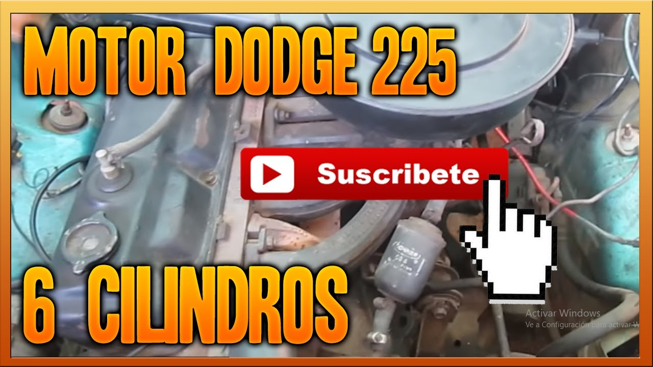 Ram Rt For Sale >> Motor 225 Dodge 6 cilindros - YouTube