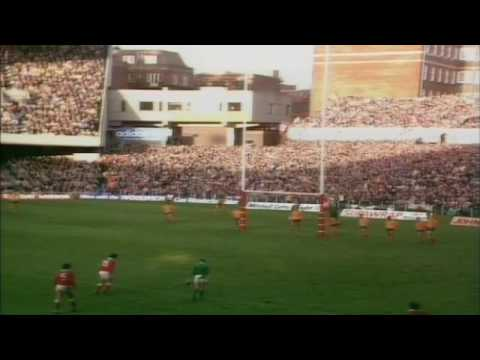 Wales v Wallabies Highlights (1984 Grand Slam)