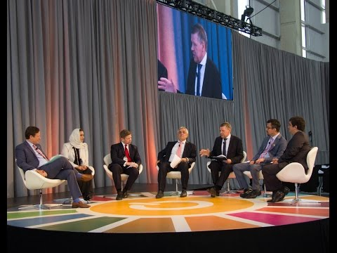 Valentin Rybakov participates in a panel discussion at Sustainable Energy for All Forum in New York