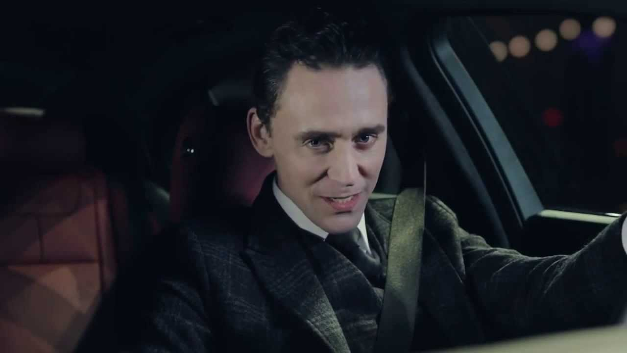 Tom hiddleston jaguar
