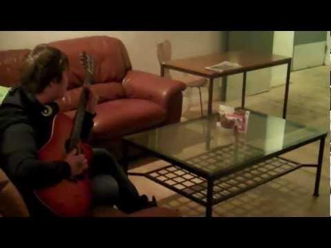 Me playing song for Ewan Dobson...techno guitar 101 by Przemek Hotlas
