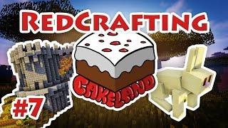 CakeLand - #7 - Кролики, крепость и много лавы!