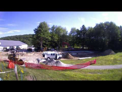 Abenaki Ski Lodge Time Lapse Construction