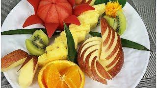 과일 예쁘게 모양내기 1 _ 특별한 손님을 위한 나만의 과일 플레이팅(Fruit plating)