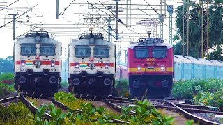 22 HIGH SPEED TRAIN VIDEOS In 10 Minutes!! Indian Railways TRAINS !