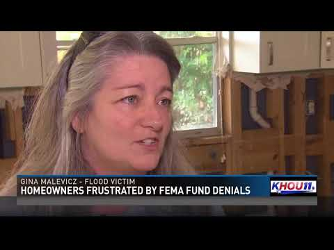 Homeowners frustrated by FEMA fund denials