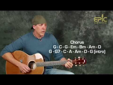 Guitar Lesson Eagles Lyin' Eyes acoustic song with strumming patterns chords beginner intermediate