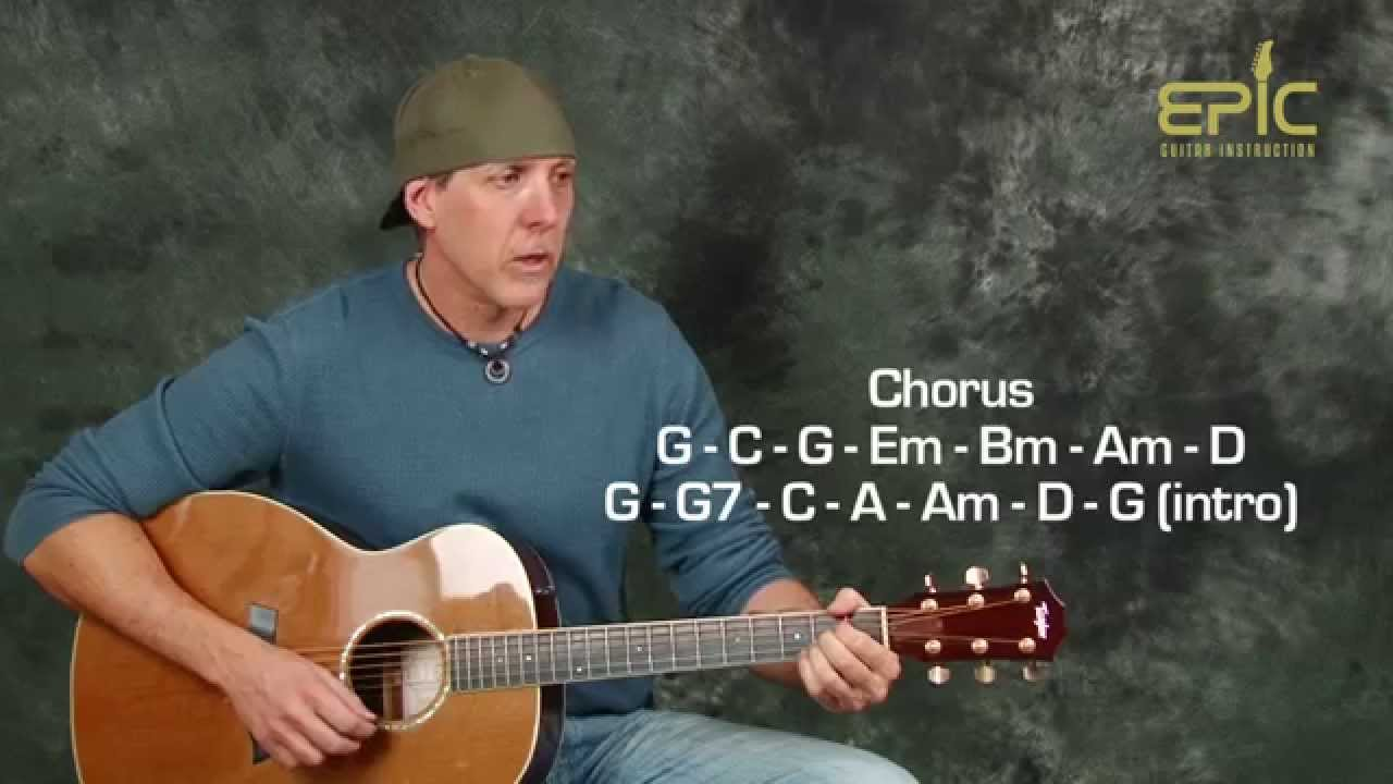 Guitar lesson eagles lyin eyes acoustic song with strumming queue hexwebz Choice Image