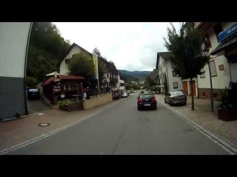 Schwarzwaldtour Nord, Motorrad, Teil 1