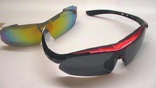 обзор спортивные очки с АлиЭкспресс